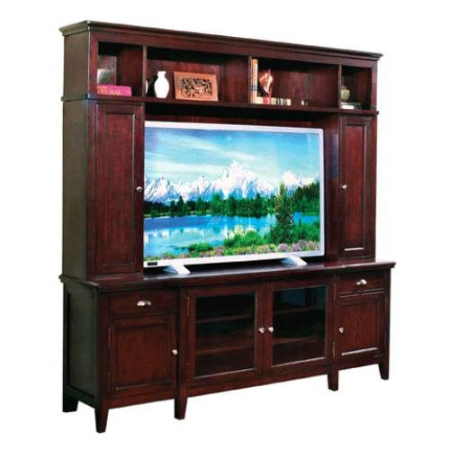 Nova Casual Brown Wood TV Console Desk B RH-2445-368B