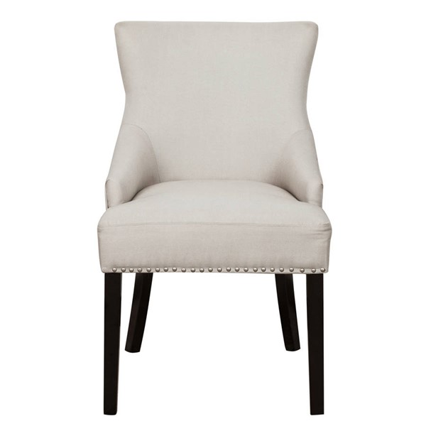 Home Meridian Warm Gray Square Back Upholstered Dining Chair RH-320-C147-706-461