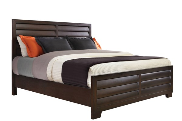 Sable Brown Hardwood Queen Bed RH-330170-QBED