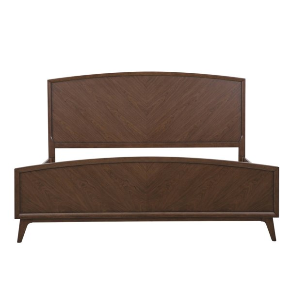 Modern Harmony Brown Wood Beds RH-40315-BEDS