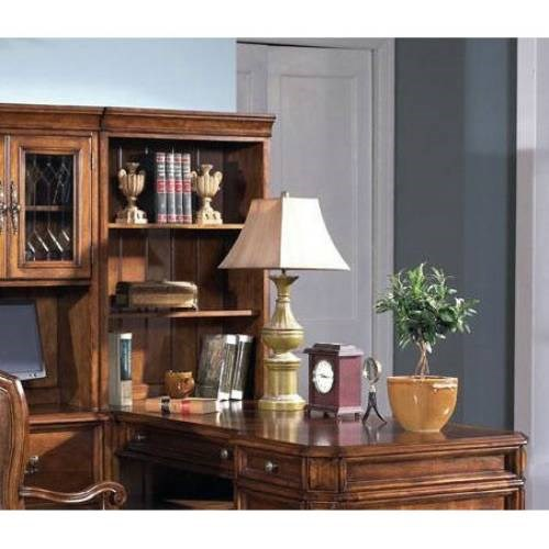 Madison Traditional Brown Wood Open Hutch RH-4455-926T