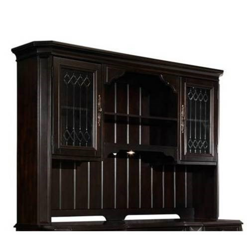 Lexington Traditional Brown Wood Computer Desk Hutch RH-4456-916
