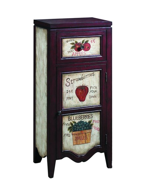 Madison Country Brown Wood Rectangle Accent Chest RH-597126