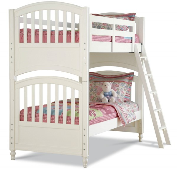 Pawsitively Yours White Twin/Twin Bunk Bed RH-634154-Beds
