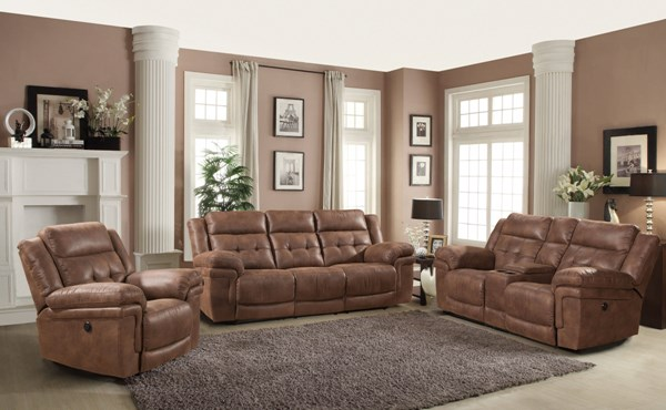 Charleston Traditional Polyester 3pc Living Room Sets RH-6500-LR-S
