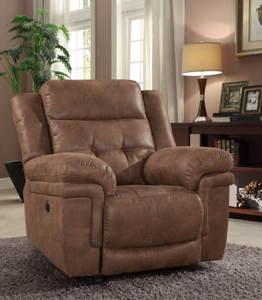 Charleston Traditional Polyester Pillow Top Arms Glider Recliner RH-6500-REC-VAR