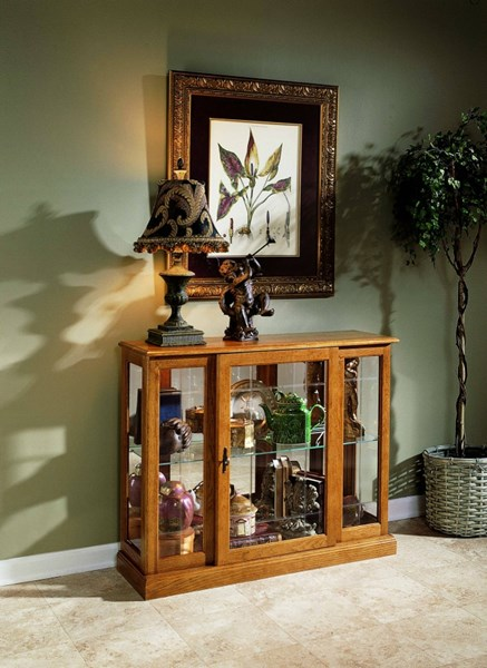 Pulaski Furniture Golden Curio Console RH-6715