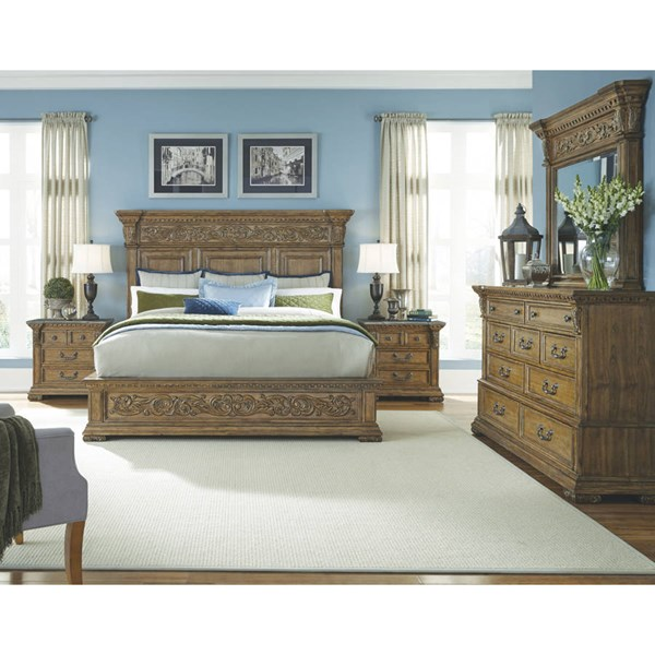 Pulaski Furniture Stratton Brown Master Bedroom Set RH-7371-BR