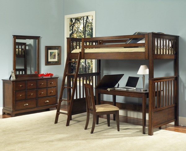 Pepper Creek Elegant Solid Wood Bunk Bed Ends RH-8124-730