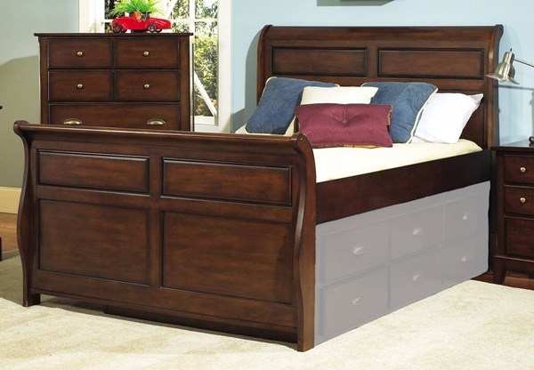 Pepper Creek Elegant Wood Twin Sleigh Headboard RH-8124-735