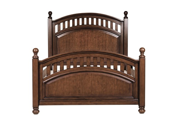 Samuel Lawrence Expedition Brown Twin Bed RH-8468-BR-K9