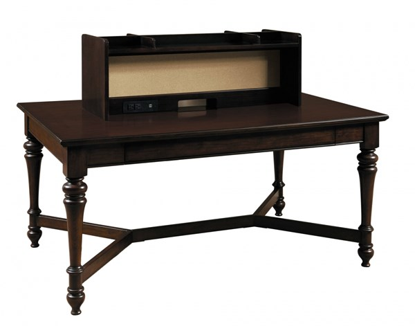 Homework Casual Brown Wood 2.0 60 Inch Workstation Table RH-8616-940