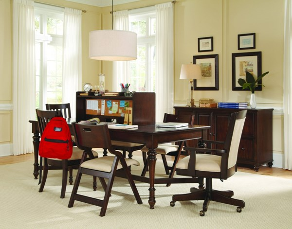 Homework Casual Brown Wood 2.0 Office Furniture Sets RH-8616-HO-OF-S