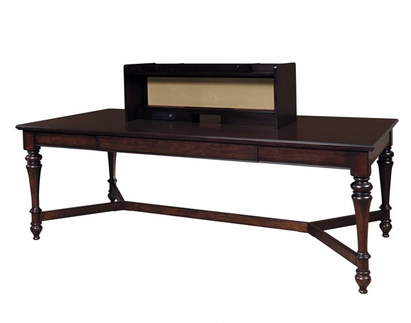 Homework Casual Brown Wood 2.0 84 Inch Workstation Table RH-8616-942