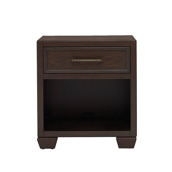 Samuel Lawrence Club House Brown Nightstand RH-8872-450