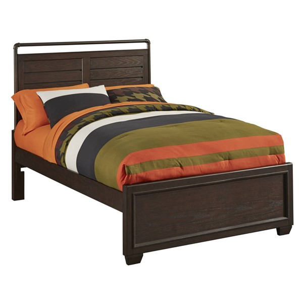 Samuel Lawrence Club House Brown Youth Full Bed RH-8872-BR-K2