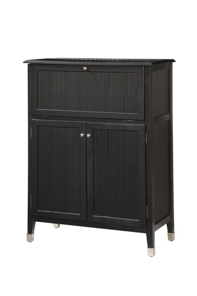 Home Meridian Martini Black Storage Bar RH-917002