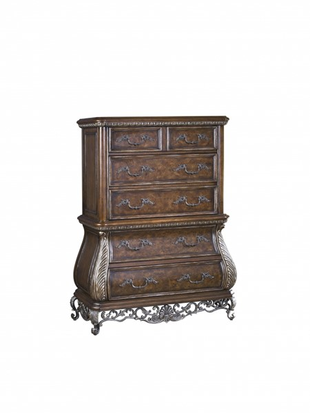 Birkhaven Old World Brown Hardwood Chest RH-991124