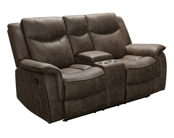 Home Meridian Whiskey Reclining Loveseat RH-A890-301-046