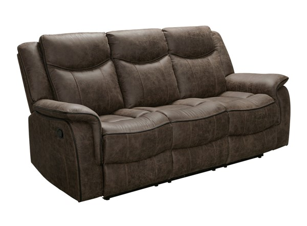 Home Meridian Whiskey Recliner Sofa RH-A890-401-046