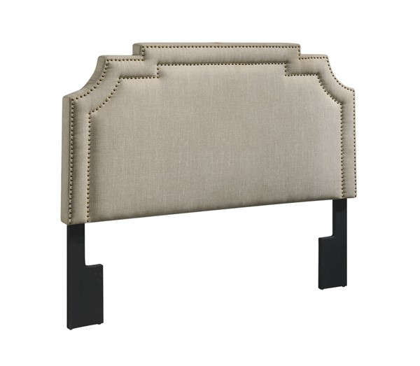 Home Meridian Beige Queen Headboard RH-D004-250-485