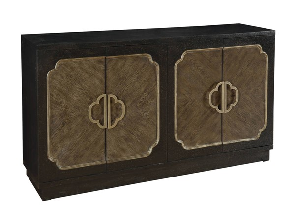 Home Meridian Distressed Brown Credenza RH-D153-128