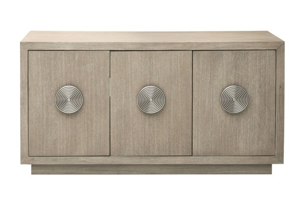 Home Meridian Beige Three Door Credenza RH-D198-106