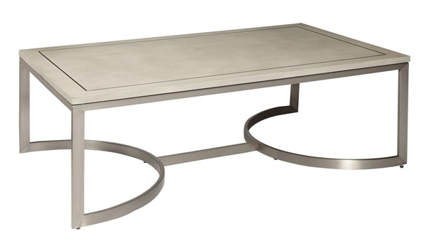 Home Meridian City Chic Light Grey Cocktail Table RH-D199-204