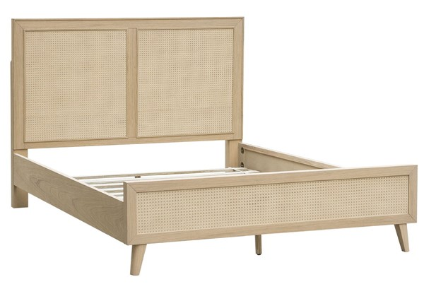 Home Meridian Cane Brown King Bed RH-DS-D314-KB