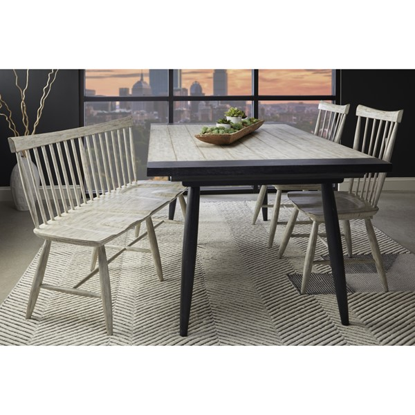 Home Meridian White 4pc Dining Room Set RH-D326-DR-S1