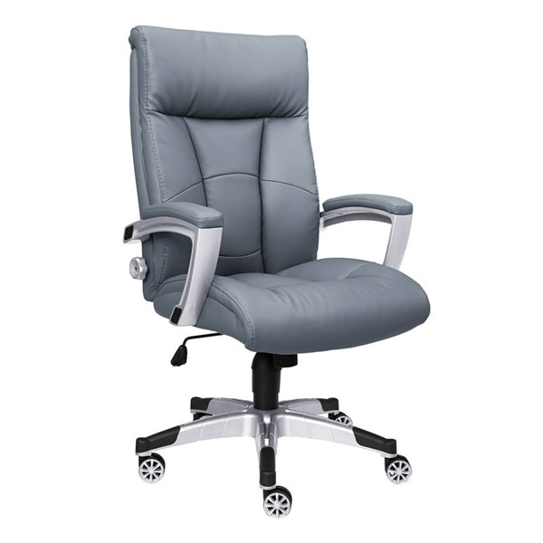 Home Meridian Sealy Gray Office Chair RH-DS-1942-452-1-606