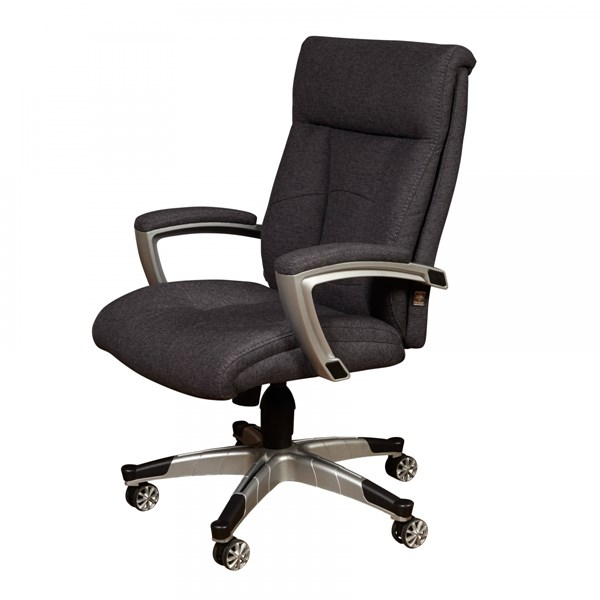 Sealy Grey Posturpedic Charcoal Fabric Cool Foam Office Chair RH-DS-1942-452-5