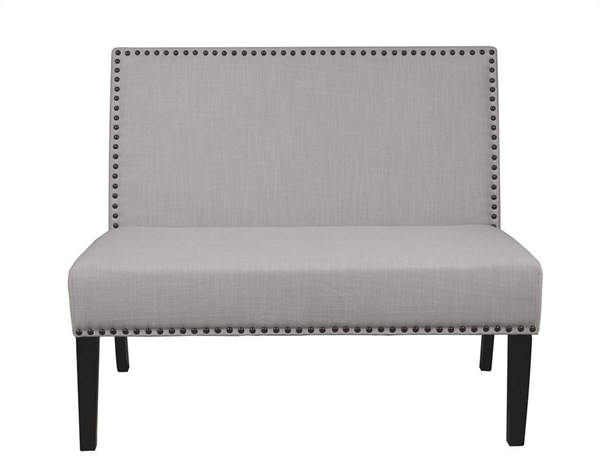 Modern Grey Brown Wood Fabric Banquette Benches RH-DS-2183-400-VAR