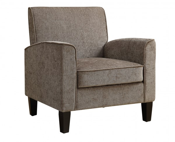 Modern Grey Fabric Hardwood Upholstered Accent Chair RH-DS-2279-900-5