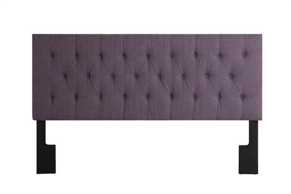 Stallion Purple Wood Fabric Full/Queen Upholstered Headboard-4/6-5/0 RH-DS-2302-250-SP