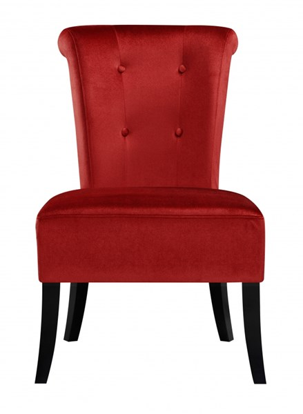Contemporary Red Hardwood Fabric Dining Chairs RH-DS-2508-900-DC-VAR