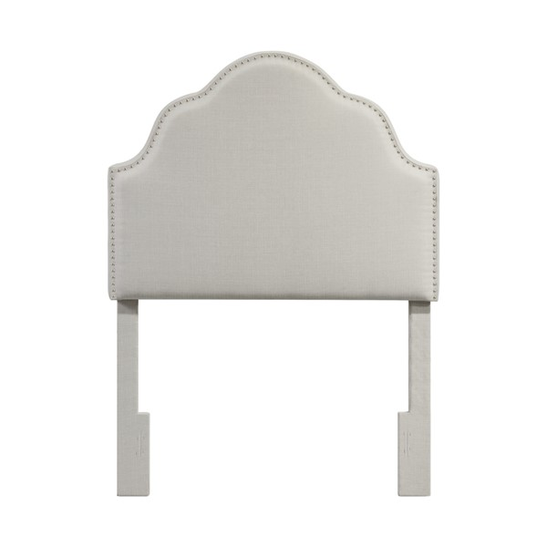 Home Meridian White York Style Twin Headboard Only RH-DS-2530-230-1