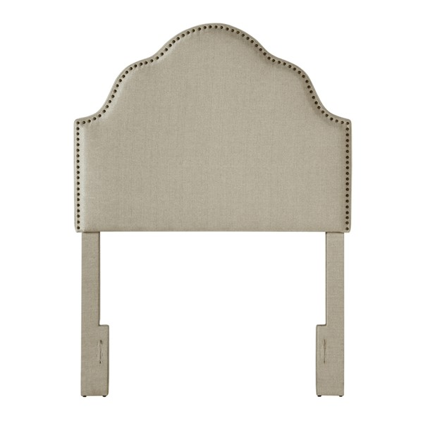 Home Meridian Taupe York Style Twin Headboard Only RH-DS-2530-230-420