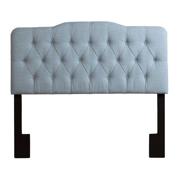 Leisure Elegant Blue Wood Fabric Queen Upholstered Headboard RH-DS-2534-250-408