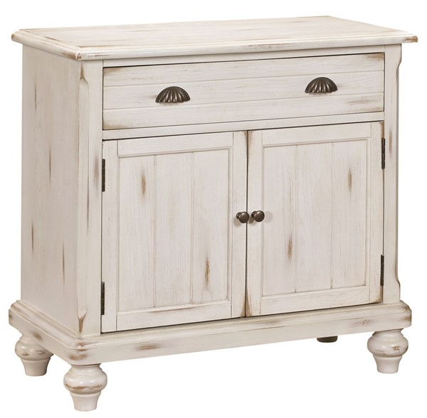 Home Meridian White Country Door Chest RH-DS-2542-850A
