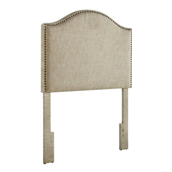 Home Meridian Linen Upholstered Twin Headboard RH-DS-8632-230A