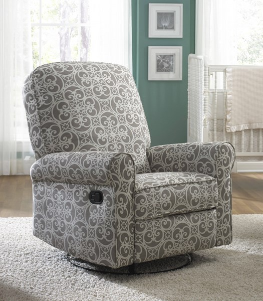 Home Meridian Ashewick Grey Glider Recliner RH-DS-911-006-231