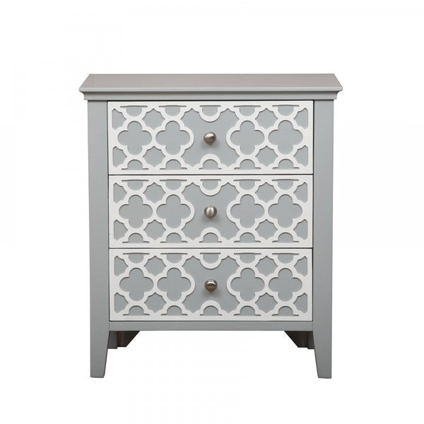 Elegant Grey Turquoise Wood Drawer Cabinets RH-DS-A09200-DC-VAR