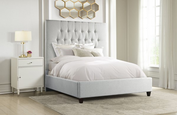 Home Meridian Grey One Box King Bed RH-DS-A124-291-461