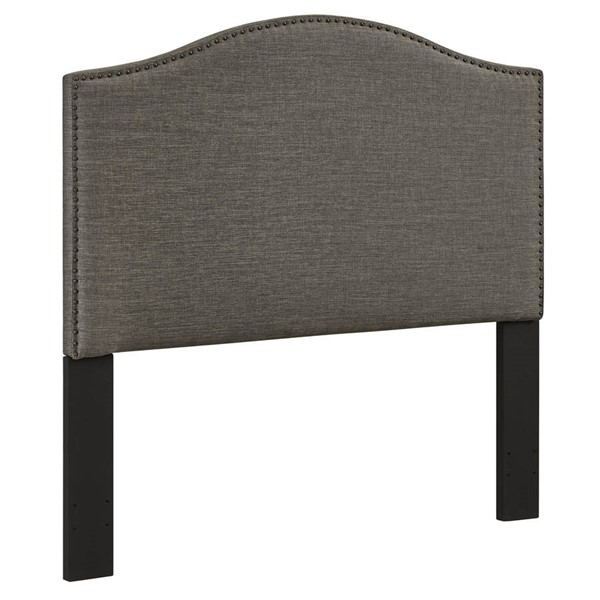 Home Meridian Grey Camelback Full Queen Headboard Only RH-DS-C095-250-2