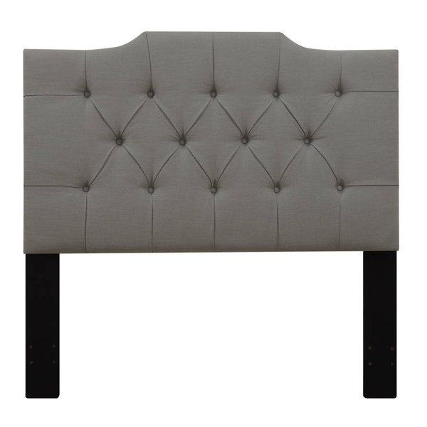 Home Meridian Grey Tufted King Headboard RH-DS-D014-270-372
