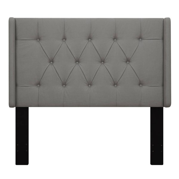 Grey Fabric Hardwood Shelter Upholstered Headboards RH-DS-D017-HDBD-VAR