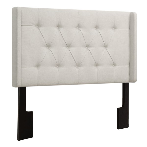 Home Meridian White Tufted Full Queen Headboard RH-DS-D017-250-432A