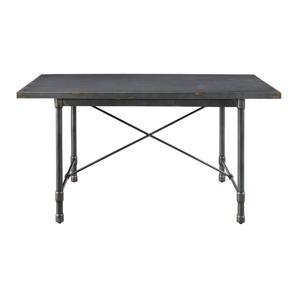 Home Meridian Grey Rectangle Dining Table RH-DS-D066
