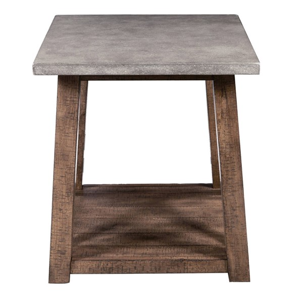 Pulaski Furniture Distressed Brown End Table RH-DS-D153-211